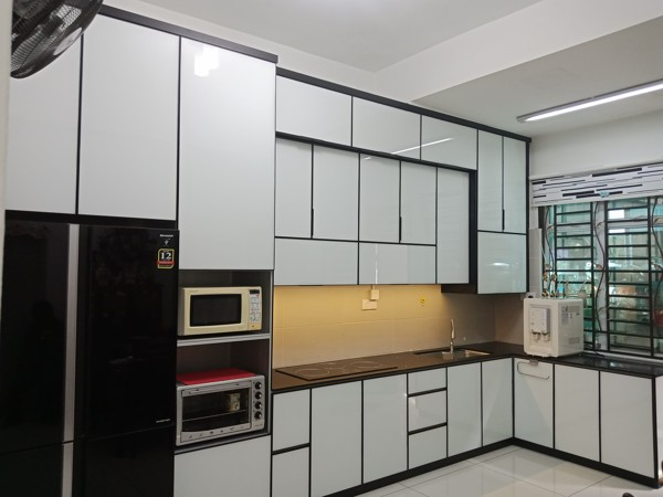 Aluminium Kitchen Cabinet Bandar Dato Onn (AFTER)
