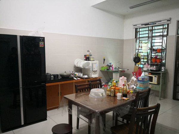 Aluminium Kitchen Cabinet Bandar Dato Onn (BEFORE)