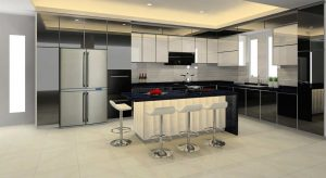Aluminium Kitchen Cabinet Bleno 3D (04)