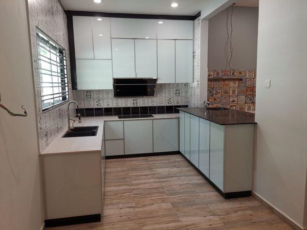 Aluminium Kitchen Cabinet Installation Kluang Johor Bleno