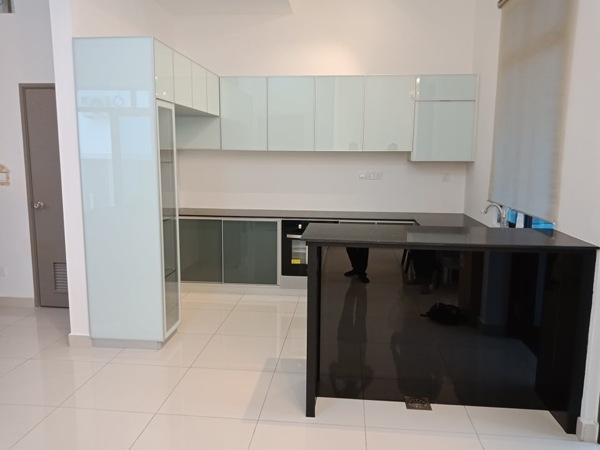 Aluminium Kitchen Cabinet Taman Bukit Gemilang (AFTER)