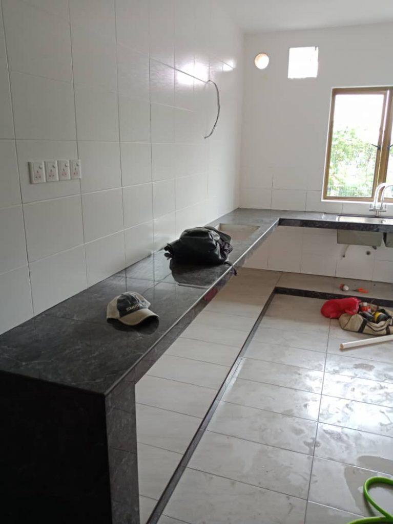 Aluminium Kitchen Cabinet Taman Damansara Aliff (BEFORE)