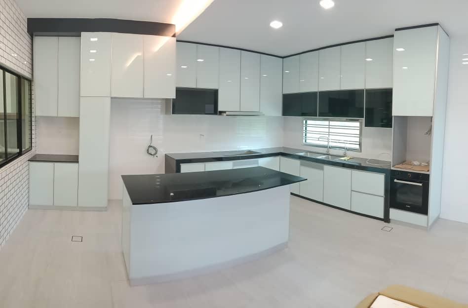 Aluminium Kitchen Cabinet Taman Seri Austin (AFTER)1