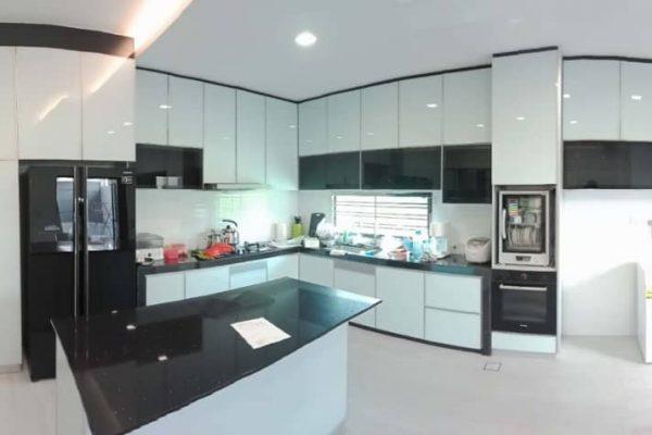 Aluminium Kitchen Cabinet Taman Seri Austin (AFTER)2