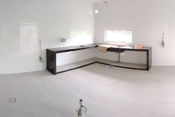 Aluminium Kitchen Cabinet Taman Seri Austin (BEFORE)2
