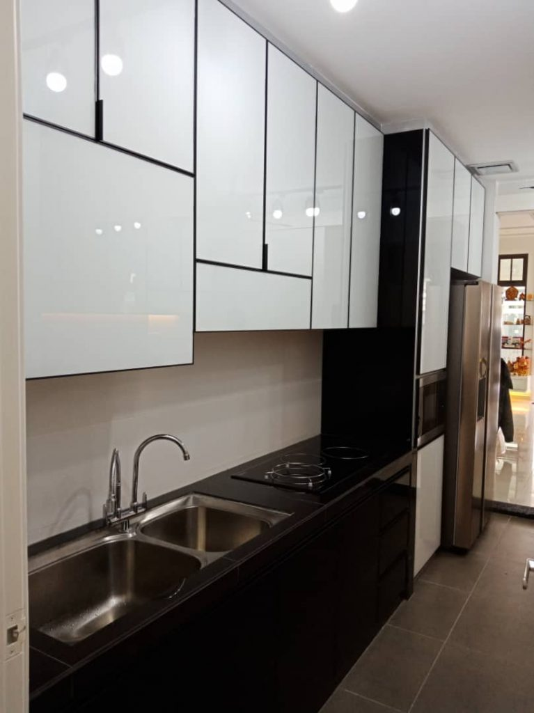 Aluminium Kitchen Cabinet Taman Skudai Baru (AFTER)2