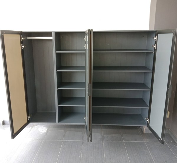 Latest Aluminium Shoe Cabinet Available Now!