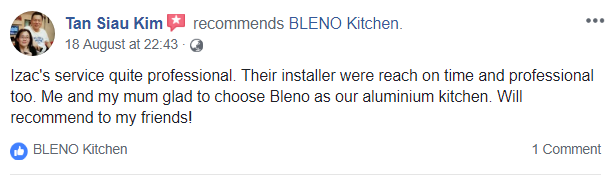 BLENO Facebook Review 3