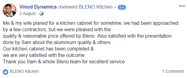 BLENO Facebook Review 4