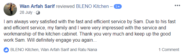 BLENO Facebook Review 5