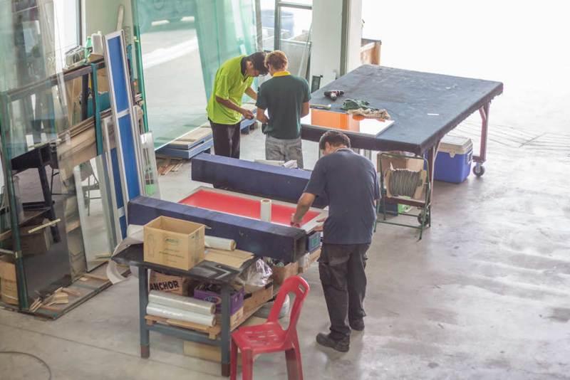 Reliable Aluminium Kitchen Cabinet Manufacturer Bleno
