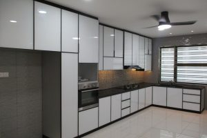 Aluminium kitchen cabinet by BLENO