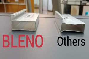 BLENO uses thicker aluminium compared to other manufacturers