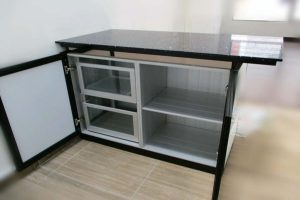BLENO aluminium kitchen cabinet types